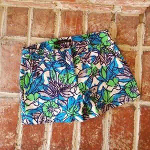 Zara tropical shorts.